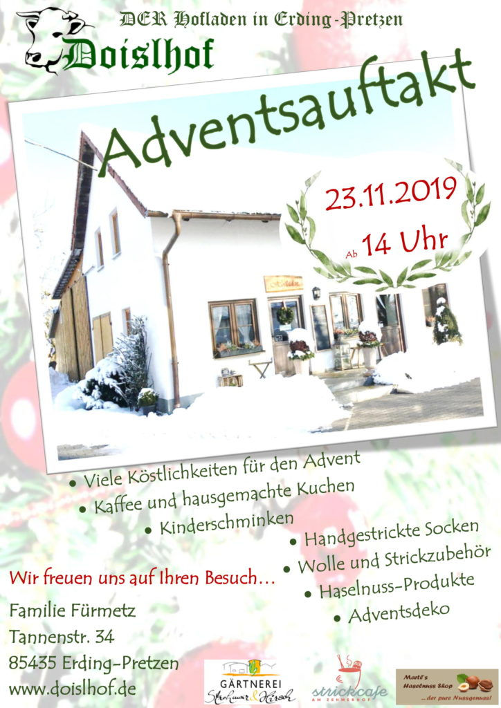 Adventsauftakt am 23.11.2019