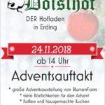 Doislhof Adventsauftakt 24.11.2018