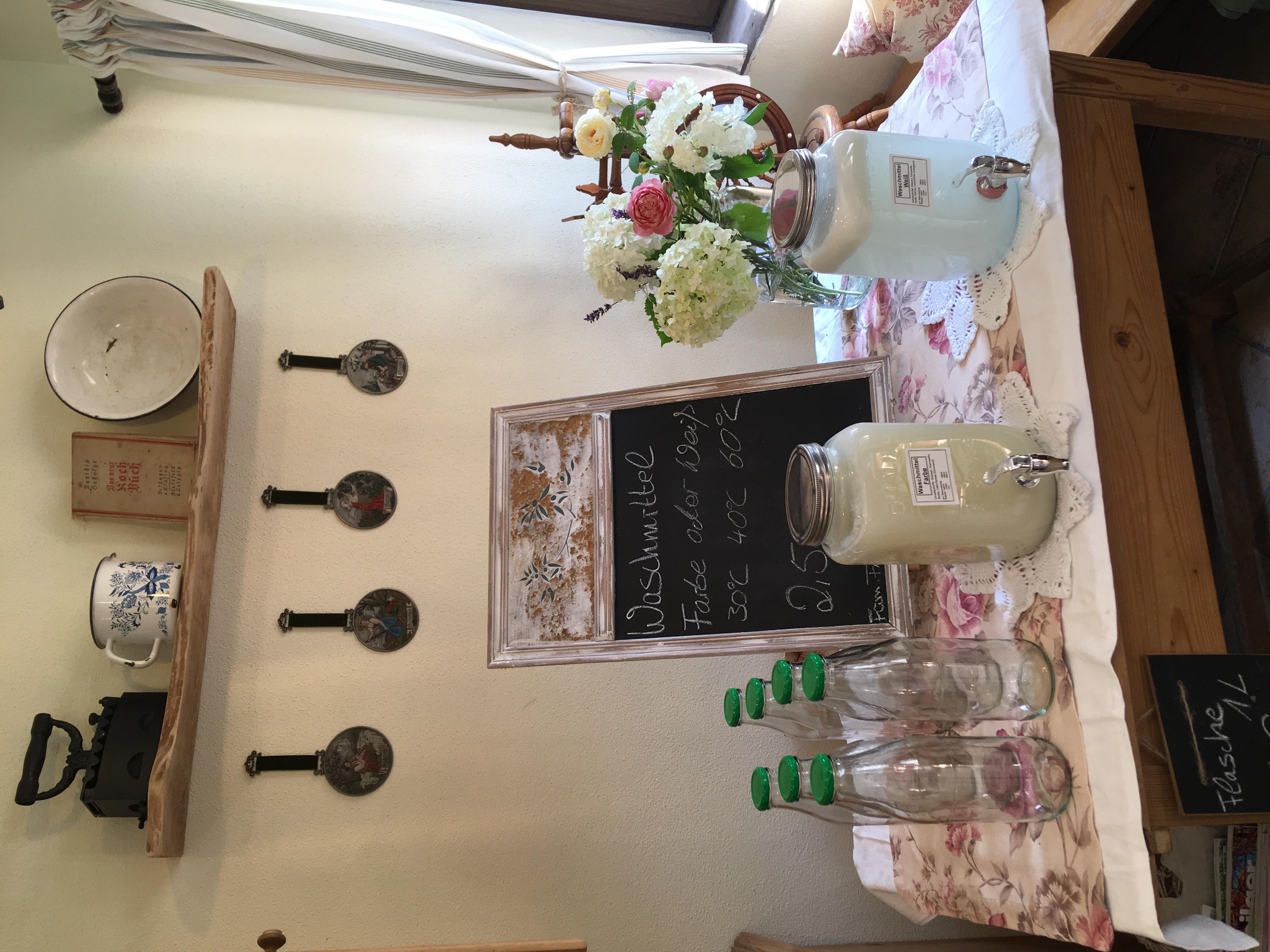 Jetzt NEU in Doisl's Hofladen: Waschmittel zum selber zapfen.